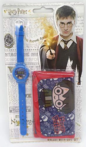 TDL Harry Potter Set Regalo Orologio + Portafoglio - Licenza Ufficiale -Watch & Wallet
