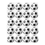 JZK 20 Piezas 32 mm plástico Mesa futbolín balones fútbol para niños y Adultos Fiesta cumpleaños favores Bolsas Fiesta Juego de Juguete