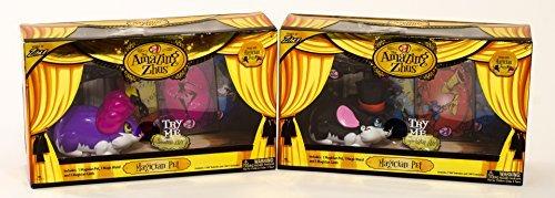 Cephia Interactive Zhu Magician Pet Toys Bundle - Amazing Madame Zhu & The Great Magician Zhu (2 Box Set) by The Amazing Zhus