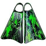 Kpaloa Aletas de Entrenamiento para Natación Splash Verde (M)