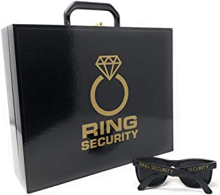 Canary Collections Ring Security Case and Sunglasses Set