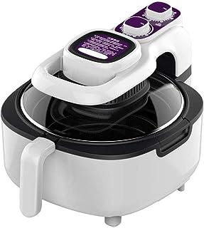 Friteuse à air 5 L, friteuse à air chaud électrique, friteuse à air chaud 1100 W, cuisson saine sans huile avec minuterie ...