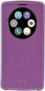 LG Smart Flip On Folio Quick Circle Window Case for LG G3