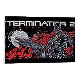 Dragón Vines Terminator 2 película de acción ciencia ficción moderna pintura al óleo mural...