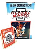 Street Magic Cards! 1 Deck - Over 100 Incredible Magic Tricks! Easy to Do - No Sleight of Hand - 'Special' Deck Does ALL the Work - Perfect for All Ages - Do Magic Like the Pros!
