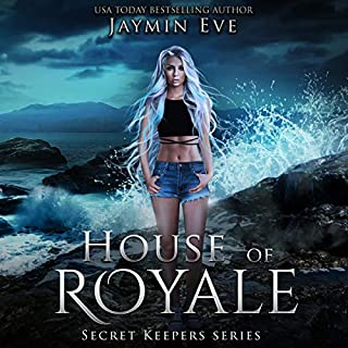 House of Royale     Secret Keepers Series, Book 4              Written by:                                                                                                                                 Jaymin Eve                               Narrated by:                                                                                                                                 Amber Lee Connors                      Length: 7 hrs and 49 mins     1 rating     Overall 5.0