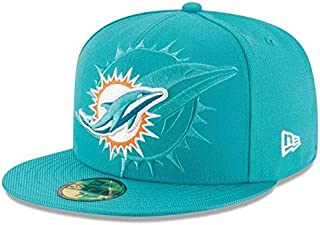 New Era New Era Miami Dolphins Aqua 2016 Sideline Official 59FIFTY Fitted Hat スポーツ用品 【並行輸入品】