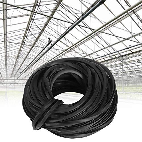 cersalt Gummistreifen, hochwertiges, verschleißfestes, langlebiges Kabelgewächshauszubehör für die Glasversiegelung(10m)