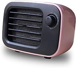 ZHNA Calentador de Escritorio Inteligente de la Temperatura Constante portátil Estufa Mini Calentador 110V / 220V 500W Electrodomésticos Calentador Hogar Jardín (Color : Purple)