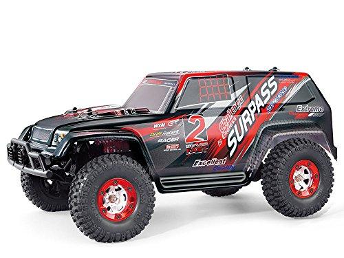 Amewi 22185 22185-Fahrzeug, Extreme 2 4WD, 1:12 Jeep, Truck