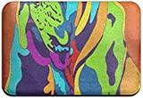 Mxung Alfombrilla de baño Antideslizante (15.7'23.6'), Alfombra de baño, Alfombra de diseño Multicolor para Perros Bloodhound Alfombras de área de diseño para Sala de Estar