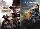 Fighting Al Qaeda + The Taliban- True Modern War Stories: Lone Survivor & 12 Strong 2-DVD Bundle