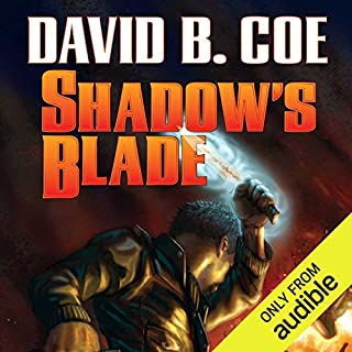 Shadow's Blade audiobook cover art