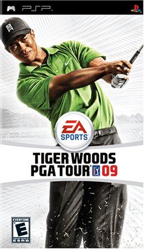 Tiger Woods PGA Tour 09 - Sony PSP