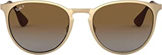 RB3539 Erika Round Metal Sunglasses