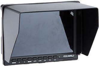كاميرا فيديو FW759 7 بوصة HD IPS LCD 1280 * 800 HDMI متوافقة مع كاميرا كانون نيلكين سوني دي اس ال ار