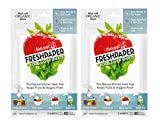 THE FRESHGLOW Co FRESHPAPER Food Saver Sheets for Produce, 16 Reusable Sheets (2 Packs), Keeps Fruits & Vegetables Fresh for 2-4x Longer