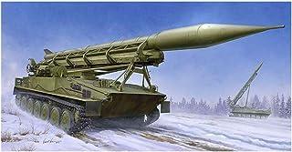 Trumpeter TRU09545 2P16 Launcher with Missile of 2k6 Luna (FROG-5) Plastic Model kit, Coloured