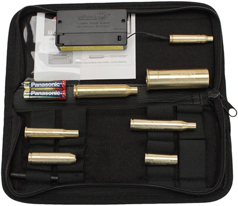 Aimshot KTRifle Laser Bore Sight Kit for Major Calibers, Brass