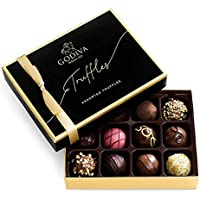 Godiva Signature Chocolate Truffles 12-Piece Gift Box, 8.1 Ounce