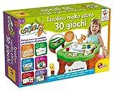 Liscianigiochi- Carotina Tavolino con Giochi educativi, Multicolore, 77458...