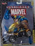 Maisto Ultimate Marvel Motorcycle - Wolverine Triumph Tiger X-Men Diecast Motorcycle