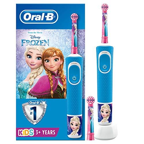 Oral-B Kids - Elektrische Tandenborstel, 1 Handvat Met Disney Frozen 2