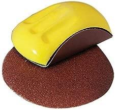 1 Ponceuse manuelle jaune 150 mm rond pour lP3G excenterschleifpapier bloc /à poncer