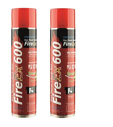 PREVENTO FireEx 600 Feuerlöschspray *DOPPELPACK*