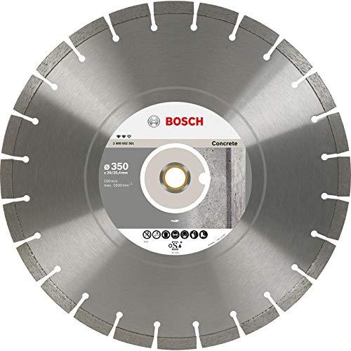 Bosch Professional Diamanttrennscheibe Expert für Concrete, 450 x 25,40 x 3,6 x 12 mm, 2608602563