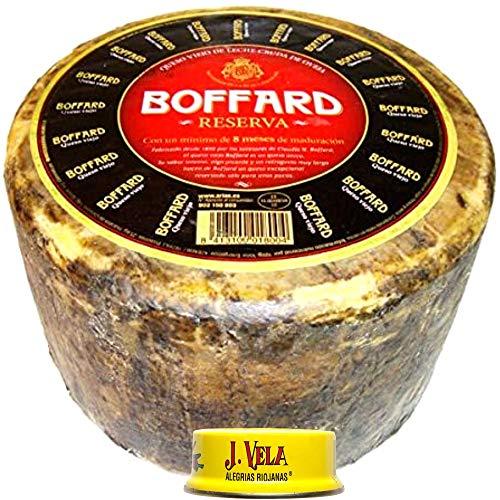 Queso Boffard Reserva - Elaborado con leche cruda peso aproximado pieza 3 kg llévate GRATIS unas ricas Alegrías Riojanas J Vela - Queso de Oveja