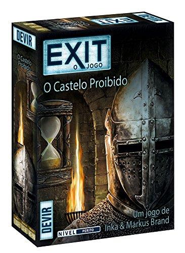 Devir - El Castillo Prohibido, edición en portugués (BGEXIT4PT)