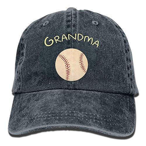 Preisvergleich Produktbild uykjuykj Baseball Caps Hats Caps Softball Grandma Women Cowboy Cap Adjustable Unique Personality Cap Baseballmütze
