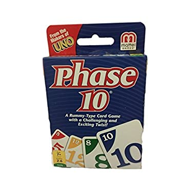 BJdesign Phase 10 Card Game, Multi
