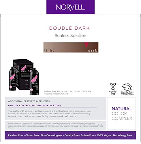 Norvell Premium Sunless Tanning Solution - Double Dark