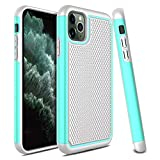 Venoro iPhone 11 Pro Max Case, Slim Hybrid Dual Layer Anti Scratch Shockproof Rugged Phone Protection Case Cover for Apple iPhone 11 Pro Max 2019 6.5inch (Green)