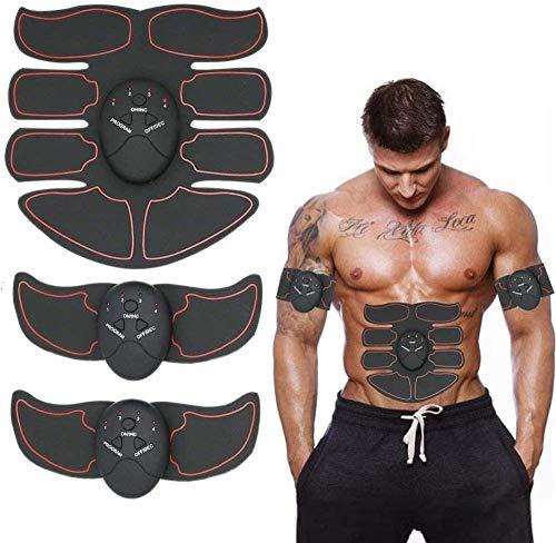 EMS Bauchtrainer,Ems trainingsgerät,bauchtrainer für zuhause, bauchmuskeltrainer elektrisch für Damen Herren,sixpack-komplet für eine fitfigur