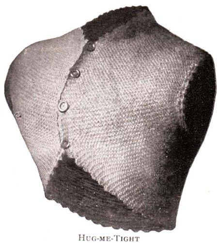 Titanic Era Hug Me Tight Bolero Shrug No. 2 Vintage Knit Knitting Pattern Sizes Small and Large (English Edition)