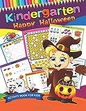 Kindergarten Happy Halloween: Easy and Fun Activity Book for Kids