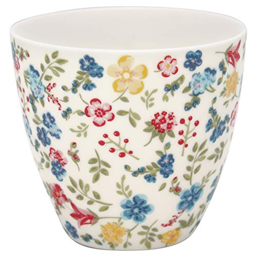 GreenGate - Tasse, Latte Cup - Sophia - White - Porzellan - 300 ml