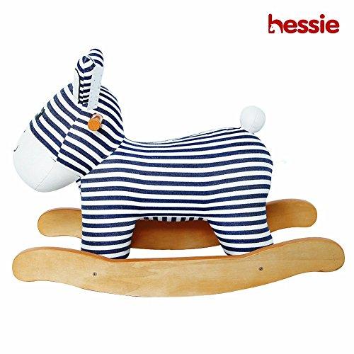 Hessie Cavallo Moderno di Peluche di Peluche Con l'animale Morbido Morbido, Guida Dell'interno Sui Giocattoli Rockers Per i Bambini Piccoli Bambini & Ragazze (6-36 Mesi) - Imbottito Banda Asino