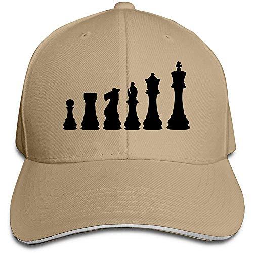 Dale Hill Gorra de béisbol Tablero de ajedrez Sombrero de Camionero de algodón Gorras Ajustables para fanáticos de los Deportes clásicos