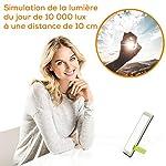 Beurer TL 30 Lampe de luminothérapie | 10 000 lux | Simulation de la lumière du jour | Lampe à lumière du jour compacte | avec support et pochette de rangement #1
