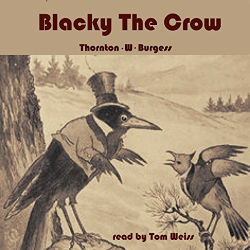 Blacky the Crow audiobook cover art
