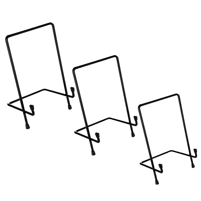 やりがいのある運河独裁amleso イーゼル 3個セット 画像ホルダー 軽量 コンパクト 卓上展示