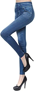 Buyaole Pantalon de Chándal para Mujer Largos Pantalones Deportivos Pantalón,Jeans Ajustados de Mezclilla para Mujer Panta...