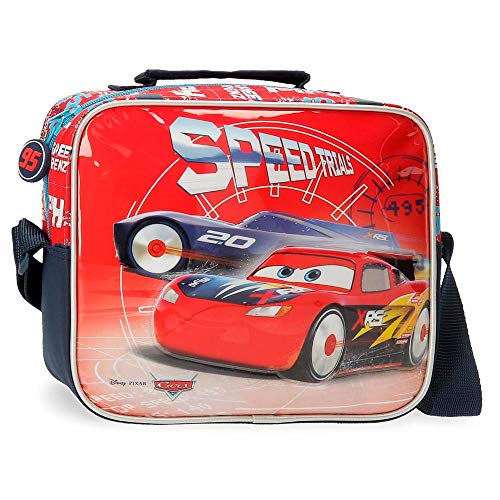 Disney Cars Speed Trails Neceser con Bandolera, Rojo
