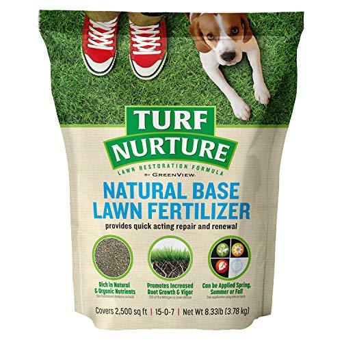 GreenView 2756714 Turf Nurture Natural Base Lawn Fertilizer, 8.33 lb
