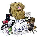 EVERLIT Complete 72 Hours for 2 People Earthquake Bug Out Bag Emergency Survival...