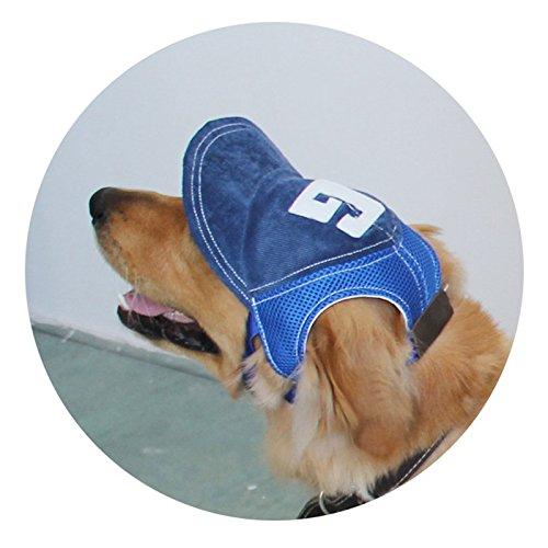 Sonitech 'Baseball-Cap, Mütze, Hut, Kappe, geeignet für kleine und mittelgroße Hunde, 3Farben